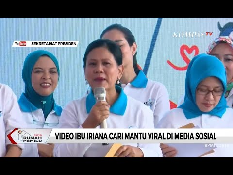 Viral, Video Iriana Cari Mantu  di Media Sosial