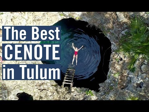 Tulum Mexico – NATURE RESERVE & CENOTE CALAVERA – TRAVEL VLOG DAY 5