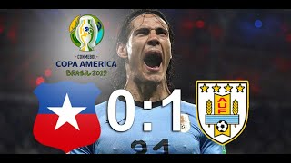 Highlights  Chile Vs Uruguay 2019