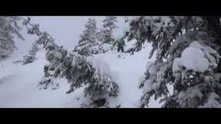 preview picture of video 'powder in Zell am see'