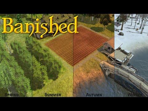 Прохождение Banished: #1 - ИЗБЕЖАТЬ ГОЛОДА!