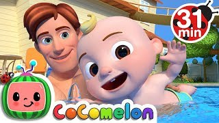 Swimming Song + More Nursery Rhymes & Kids Songs - CoComelon