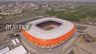 Russia: See drone footage of Saransk