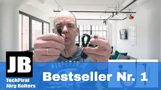 Das Amazon Bestseller Nr. 1 Ansteckmikrofon für 11,50€ im Test