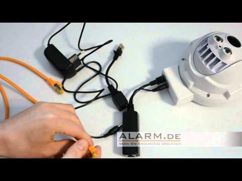 Aus jeder IP-Kamera eine POE-IP-Kamera machen - Stromzufuhr per Ethernet nachrüsen