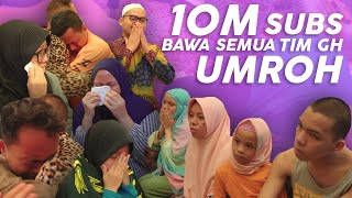 Video Penuh Haru & Tangisan Special 10M Subscribers Suprise Semua Tim GenHalilintar Umroh MP3, 3GP, MP4, WEBM, AVI, FLV September 2019