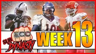 THE PRE CALCULATED OUTCOME!! - Sub Dynasty Ep.15 | Madden 17 Connected Franchise