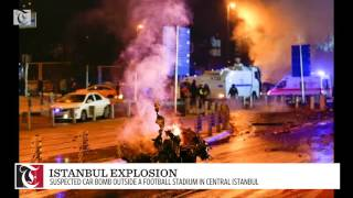 Explosion rocks central Istanbul