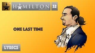 #32 Hamilton   One Last Time [[MUSIC LYRICS]]