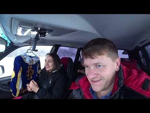 Новогодний утренник / Ёлка в клубе / Аля сдала внутренний экзамен в автошколе / Семья в деревне