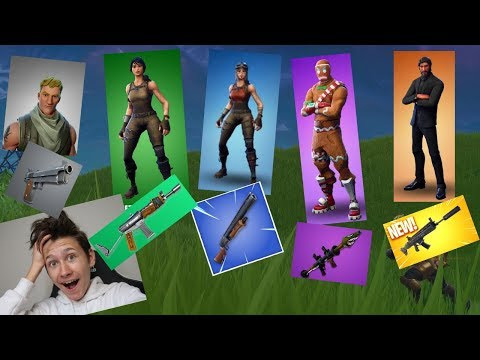 RANDOM SKIN CHALLENGE IN FORTNITE BATTLE ROYALE!