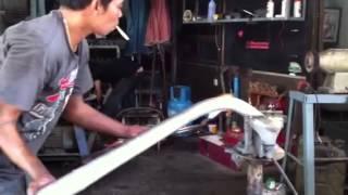 Sand bending custom intercooler piping