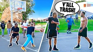 Pulling Up With Professor AGAIN On Hood Basketball Trash Talkers Part 2!