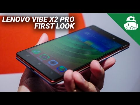 Lenovo Vibe X2 Pro First Look