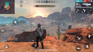 1st BOOYAH In Kalahari MAP !! Free Fire Live With Desi Gamers - LIVE