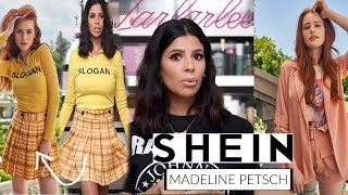 I BOUGHT SHEIN X MADELAINE PETSCH CLOTHING LINE....  hit or miss?