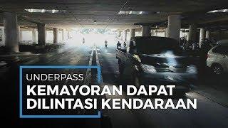 Pasca-banjir Underpass Kemayoran dapat Dilintasi Kendaraan