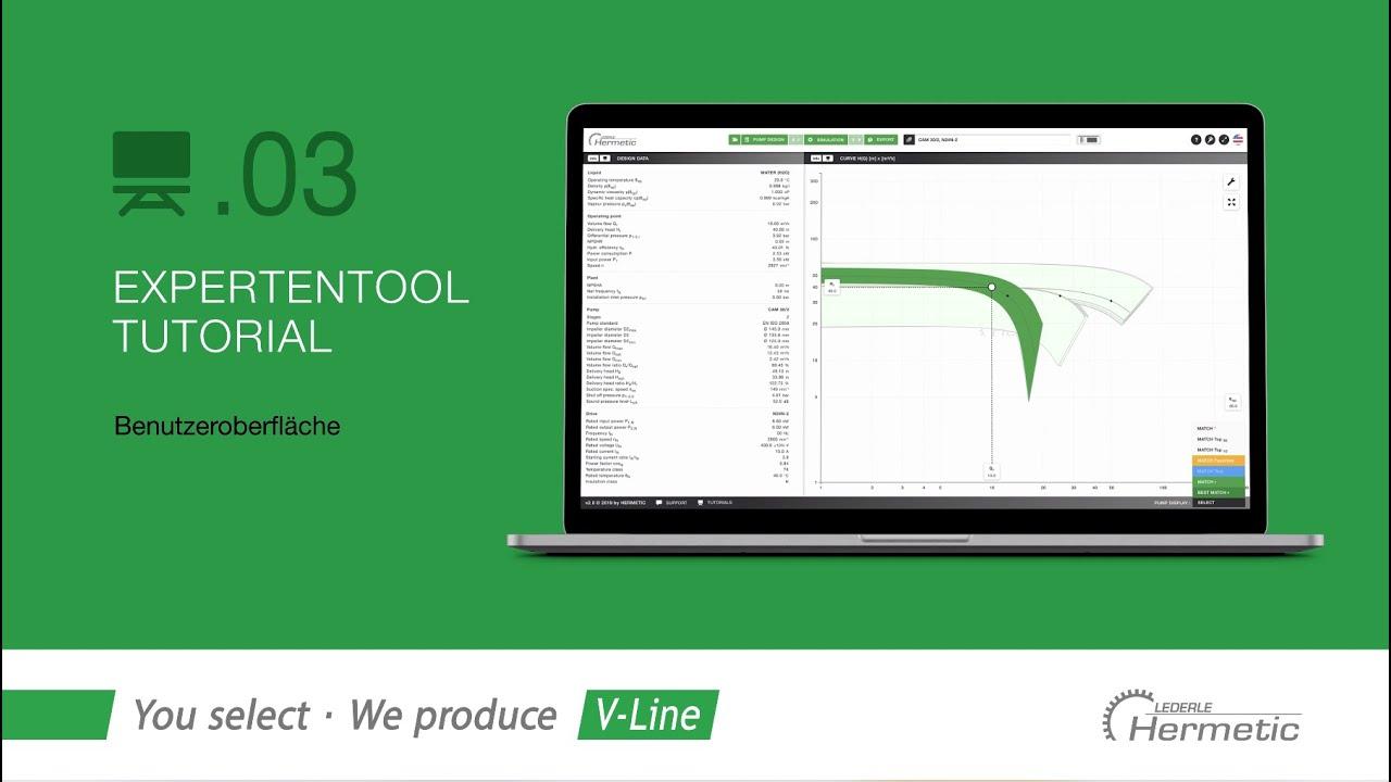03 | HERMETIC Experten Tool | Benutzeroberfläche (de)