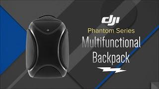 DJI Phantom Series Black Multifunctional Backpack CP.PT.000381 - Overview