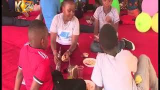 Pres. Kenyatta hosts orphans for early christmas