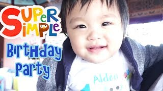 Super Simple First Birthday | Party Games For Kids And Adults