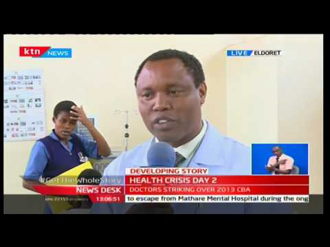 KTN Newsdesk 6th December 2016 - [Part 1] -Health Crisis in Kenyan Hospitals as Doctors go on strike
