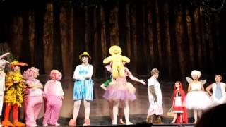 Shrek The Musical Freak Flag Ashley Lauren Foundation Theatre Ensemble