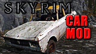 Skyrim Mod Mondays - Drive a car in Skyrim!