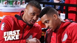 Steph and Klay are a nightmare for Dame and CJ – Stephen A. | First Take