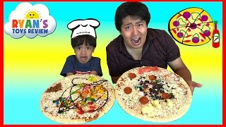 PIZZA CHALLENGE RYAN TOYSREVIEW
