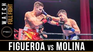 Figueroa vs Molina FULL FIGHT: February 16, 2019 - PBC on FOX