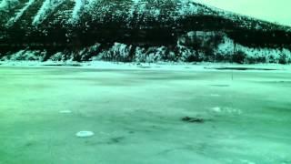 Зимняя рыбалка в калаче на дону
