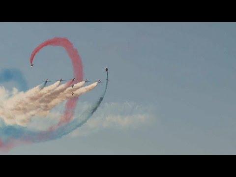 Air Show 2017: Εντυπωσιακό θέαμα στην Τανάγρα
