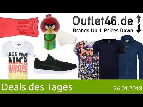 Outlet46.de DEALS I PUMA I CHIEMSEE I rick cardona I Spartans I pieces I AjC I Angry Birds I dirts