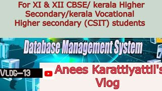 DBMS | Database management systems | Types of SQL commands | Tutorial (Malayalam)