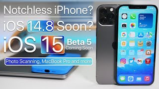 iPhone without a Notch, iPhone Photo scanning, iOS 14.8, Macs and more