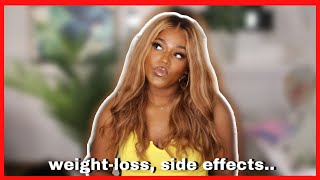 Weight-loss & Side Effects! Metformin for PCOS One Month Update! women's health