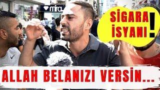 Erdoğan : SİGARA İÇMEYİN ve ZAM ! Vatandaşın Görüşleri..