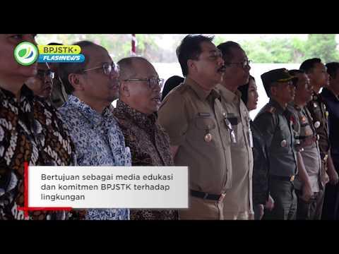 Flash News - Peletakan Batu Pertama Ruang Terbuka Hijau BPJS Ketenagakerjaan di Gianyar (12/02).