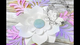 MOLDES GRATIS | FLOR DE PAPEL | HOW TO MAKE PAPER FLOWERS | FREE TEMPLATES