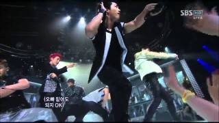 [SBS 인기가요] 2PM - Hands Up 627회 2011년6월26일 일요일 [고화질]
