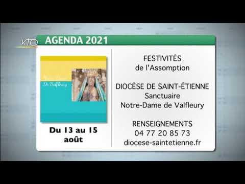 Agenda du 23 juillet 2021