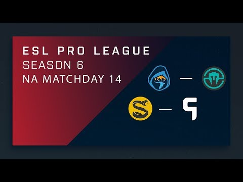 CS:GO: Rogue vs. Immortals | Splyce vs. Ghost - Day 12 - ESL Pro League Season 6 - NA 2nd Stream