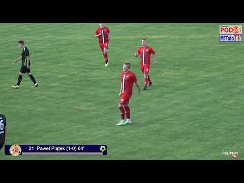 WIDEO: Polonia Przemyśl - Stal II Stalowa Wola 3-1 [SKRÓT MECZU]