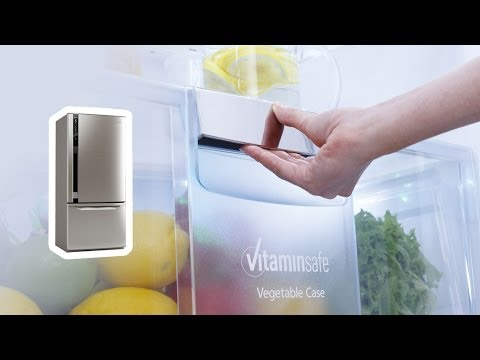 Panasonic Refrigerator - AG Clean and Vitaminsafe
