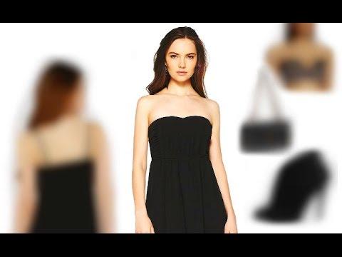 Warum Sonja diese 3 Sommer Outfit Tipps für ein trägerloses Kleid vorne kurz hinten lang lieben wird