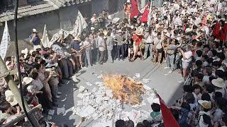 《六月四日》《历史的伤口》献给六四英灵和为民主事件奋斗的人们(字幕)