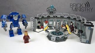 LEGO Мстители 4: Финал ● Лаборатория Железного Человека [76125]