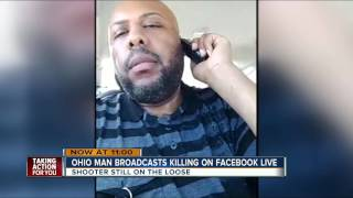 Ohio man broadcasts killing on Facebook live