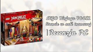 LEGO Ninjago 70651 Starcie w sali tronowej |Recenzja PL zestawu na czerwiec 2018
